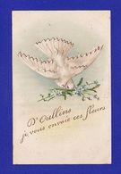 COLOMBE DE OULLINS Paillettes Or1905 Illustrateur ? ( PETITES TACHES TRES TEGERES SINON Très Très Bon état ) +6718 - Oiseaux