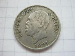 Haiti , 5 Centimes 1905 - Haïti