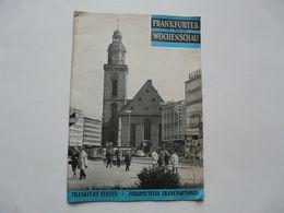 FRANKFURT EVENTS - PERSPECTIVES FRANCFORTOISES - Deutschland Gesamt