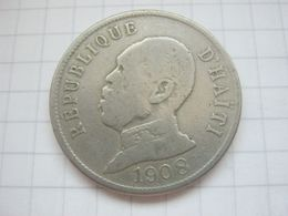 Haiti , 50 Centimes 1908 - Haiti