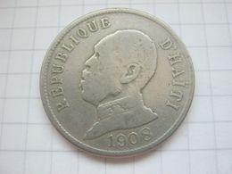 Haiti , 50 Centimes 1908 - Haïti