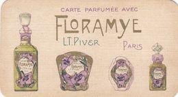 3 Cartes Parfumées ,,, Scans Recto Et Verso - Vintage (until 1960)