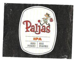 BIERE ETIQUETTE PALJAS IPA ( UN VAGABOND, GENRE BD ) BRASSERIE HENRICUS A ZEEBRUGGE BELGIQUE - VOIR LE SCANNER - Bier