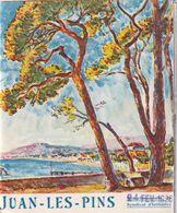 Ancien Dépliant ANTIBES JUAN-LES-PINS 1936 - Tourism Brochures