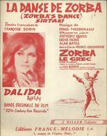 """""""La Danse De Zorba"""" (Zorba's Dance Sirtaki) Dalida - Film Zorba Le Grec - Música De Películas"""