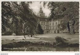 AK  Oldenburg Schloßhof _ Kleinformat  _Ansichtskarte - Oldenburg