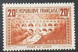 N° 262b (chaudron Clair, Rivière Blanche) Neuf * Gomme D'Origine  TTB - Unused Stamps
