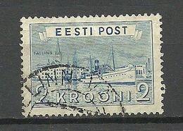Estland Estonia 1938 Reval Hafen Michel 137 O - Estonia