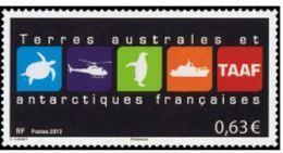 "TAAF YT 681 "" Logo Des TAAF "" 2013 Neuf** - Unused Stamps"