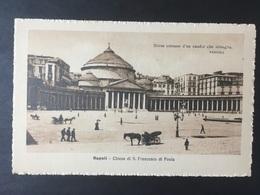 NAPOLI....Naples......Neapel........Chiesa Di S. Francesco Di Paola....ed. Trampetti - Napoli (Naples)