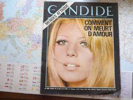 Candide N°330 21 Août 1967 Comment On Meurt D'amour / Mendès Attaque / Mosconi / Mao / Howard Hugues - Informations Générales