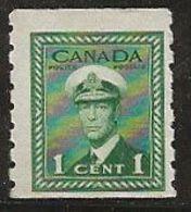 Canada 1943-1948 N° Y&T :  205aA ** - 1937-1952 Règne De George VI