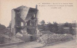 116 MEZIERES                                Un Coin De La Route Du Theux - Autres Communes