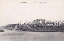 90 MEZIERES                                 Route Du Theux  Et Pont Du Canal - Autres Communes