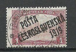 TSCHECHOSLOWAKEI Czechoslovakia 1919 Michel 133 O - Gebraucht