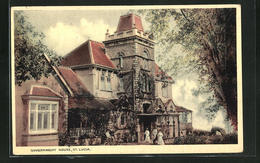 AK St. Lucia, Government House - Postcards