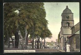AK Castries, Roman Catholic Church - Postcards