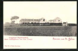 CPA St. Helena, Longwood Napoleonshuis Thans Verblijfplaats Van Gen. Cronjé - Saint Helena Island