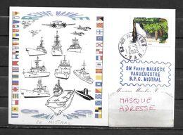 B.P.C. MISTRAL - Revue Navale à SAINTE MAXIME -TàD Ste MAXIME 09/05/09 - Naval Post