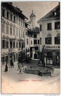 SUISSE - Schaffhouse - SCHAFFHAUSEN - Tellsbrunnen - SH Schaffhouse