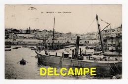 DF/ MAROC / TANGER / VUE GENERALE DEPUIS LE PORT / 1921 - Tanger