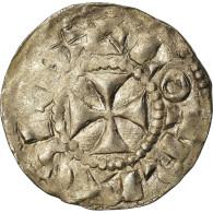 Monnaie, France, Lothaire, Denier, 960-980, Bourges, TTB, Argent, Prou:755 - 751-987 Monnaies Carolingiennes