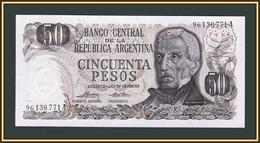 Argentina 50 Pesos 1974-1975 P-296 (296a.2) UNC - Argentine