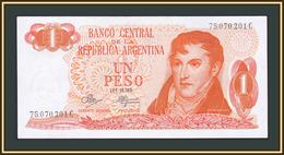 Argentina 1 Pesos 1972 P-287 (287a.3) UNC - Argentine