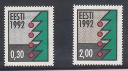 Estonia 1992 - Natale Nuovi - - Estonia