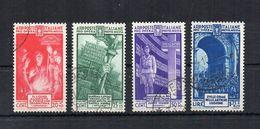 Italia - Regno - 1935 - Pro Opera Di Previdenza M.V.S.N. - 4^ Serie - 4 Valori - Usati - (FDC22290) - Usati