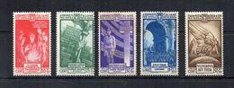 Italia - Regno - 1935 - Pro Opera Di Previdenza M.V.S.N. - 4^ Serie - 4 Valori + Posta Aerea - Nuovi * - (FDC22291) - Usati