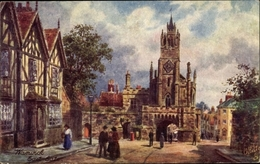 Artiste Cp Warwick West Midlands England, East Gate, Tuck 7792 - Angleterre