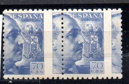 Pareja De Sellos Nº 929dv España - Variedades & Curiosidades
