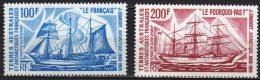 """TAAF Aerien YT 38 & 39 (PA) """" Bateaux D'expédition """" 1975 Neuf** - Airmail"""