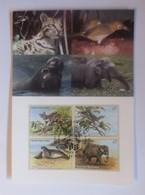 UNO Wien   Gefährdeten Arten  1994   Maximumkarte   Nr. 24  ♥ (31100) - Wien - Internationales Zentrum