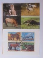 UNO Wien  Gefährdeten Arten   1997  Maximumkarte  Nr.49  ♥ (49115) - Wien - Internationales Zentrum