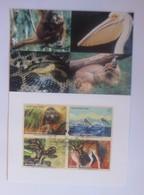 UNO Wien  Gefährdeten Arten   1999  Maximumkarte  Nr. 61  ♥ (64476) - Wien - Internationales Zentrum