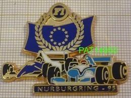 F1  NURBURGRING  95 1995 BENETTON RENAULT  JORDAN PEUGEOT   Cartouche Bleu Marine En Version ZAMAC - F1