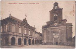 31. MONTASTRUC. Mairie Et Eglise - Montastruc-la-Conseillère