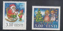 Estonia 1998 - Natale Nuovi - - Estonia