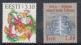 Estonia 1999 - Natale Nuovi - - Estonia