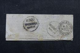 """INDE - Oblitération """" Ahmedabad - Railway -Station """" + Cachet De Wadhwan Sur Lettre En 1917 - L 62669 - India (...-1947)"""