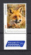 Nederland  Internationaal Persoonlijke Zegel : Dier, Animal, Vos, Fox - Unused Stamps