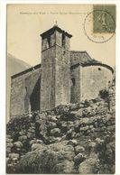 Carte Postale Ancienne Comps Du Var - Vieille Eglise (Monument Du XIe Siècle) - Comps-sur-Artuby