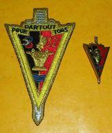 32° Régiment Du Génie, Cuirasse Relief, Dos Lisse, Opaque AVEC SON TISSU,  FABRICANT DELSART SENS,HOMOLOGATION 3196  , E - Landmacht