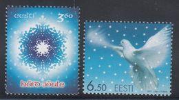 Estonia 2001 - Natale Nuovi - - Estonia
