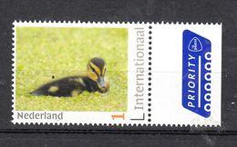 Nederland  Internationaal Persoonlijke Zegel : Dier, Animal, Eend, Duck - Unused Stamps