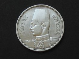 EGYPTE - 10 Piastres En Argent  1937 Ou 1939 . **** EN ACHAT IMMEDIAT **** - Egypt