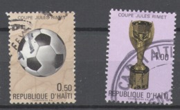 Haiti 1971 Used Football, Soccer, World Cup - Mexico 1970 - Haïti
