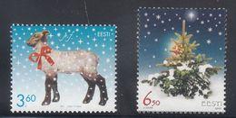 Estonia 2002 - Natale Nuovi - - Estonia